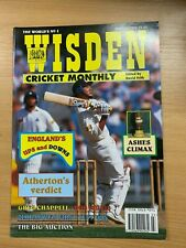 WISDEN CRICKET MONTHLY MAGAZINE (MAR 1995) - GRAHAM THORPE COVER / ASHES CLIMAX