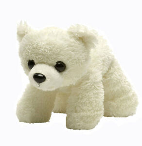 "Hug'ems Polar Bear Hugems soft plush toy 7""/17cm Wild Republic - NEW"