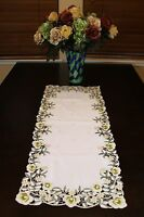 Embroidered Lace Placemat Dining Table Dresser Runner Wedding Party Home Decor