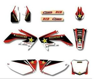 HONDA CRF 250 2008-2009 Graphics DECALS Sticker Kit MX
