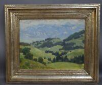 Roland NIEDERBÜHL (1896-1958, Stuttgart) - Apenzeller Land in der Schweiz
