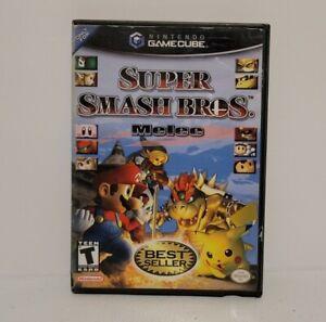 Super Smash Bros. Melee Nintendo GameCube CIB With Manual Fast Shipping!!!