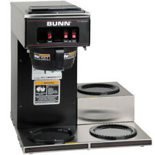 Coffee Maker BUNN VP17-3 Pourover Brewer Machine 3 Warmer Commerical Low Profile