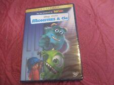 """DVD NEUF """"MONSTRES & CIE"""" Edition Francaise Disney N°64"""