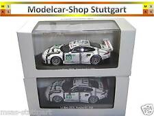 2 x Porsche 911 Rsr le Mans 2015 #91 and #92 Spark 1:43 Museum Edition Brand New