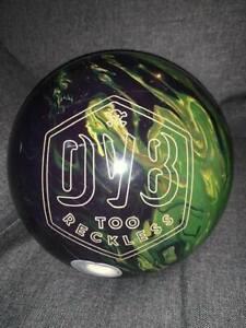 Boule de bowling Guts or Gutter TOO RECKLESS USBC CEE 22037