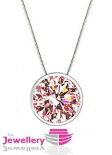 Unbranded Round CZ Costume Necklaces & Pendants
