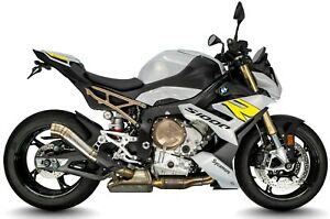 BMW S1000R 2021 GP-MP1 SHORTY GP EXHAUST CAN STAINLESS / TITANIUM