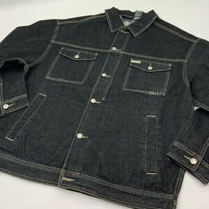 Men's Rocawear Black Denim Jacket