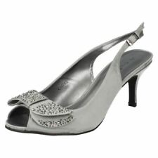 High (3 in. to 4.5 in.) Satin Special Occasion Heels for Women
