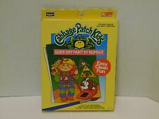 Cabbage Patch Kids RoseArt Quick-Dry Paint By Numbers 1990 NEW