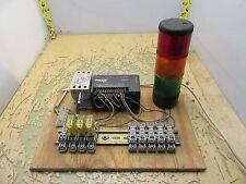 Koyo Direct logic D0-05DD PLC idec PS5R-A24 Telemecanique light stack [T-6]