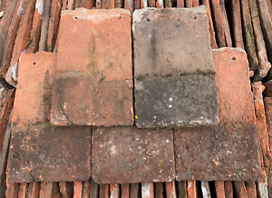 Reclaimed Clay Swallow Nib Roof Tiles