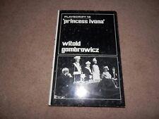 Witold Gombrowicz Princess Ivona 1st ed 1969 Calder & Boyars Hardback jacket
