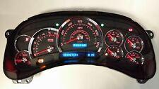 6d 05 06 2005 2006 Platinum Carbon Fiber Gmc Sierra Complete Red Led Cluster