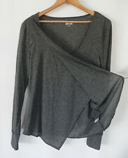 converse one star Long sleeve top Gray Poly/Rayon Jersey Size M