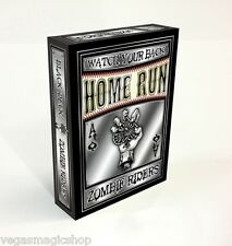 Zombie Riders Black Deck Playing Cards Poker Size Home Run Games Custom Limited