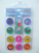 Peppa Pig Pack of 10 erasers
