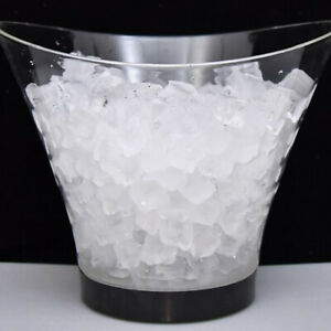 6L LED Light Up Color Changing Ice Bucket Ice Cube Container for Champagne Beer