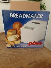 Bread maker machine prima new opened never used
