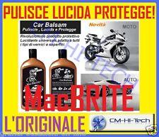 PULISCE LUCIDA E PROTEGGE UNIVERSALE PER AUTO MOTO SCOOTER BARCA CAMPER ROULOTTE