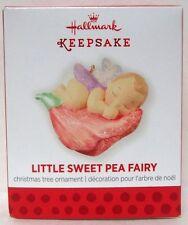 Hallmark 2013 Little Sweet Pea Fairy Miniature Ornament Fairy Messengers