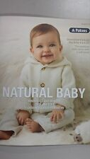 Patons Pattern Book #1315 Natural Baby - 11 Designs to Knit for Baby 0-18 months