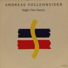 """ANDREAS VOLLENWEIDER 'NIGHT FIRE DANCE' UK PICTURE SLEEVE 7"""" SINGLE #2"""