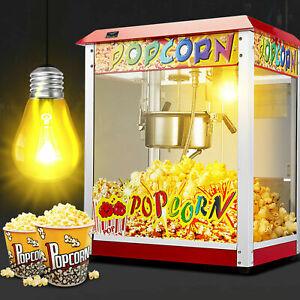 Profi Popcornmaschine Retro Popcorn Maker Home Popcornautomat 1300W Samger