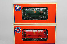 LIONEL #82709 Pennsylvania Silver & Gold Christmas ore car 2-pack