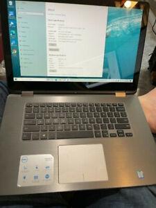 Dell Inspiron 15 7000 Intel Core i5-6200 CPU2.3GHz 16GB RAM Touch Screen
