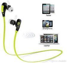 JOGGER Sport Headphone Bluetooth Wireless In-Ear Stereo Headset Earphone (green)