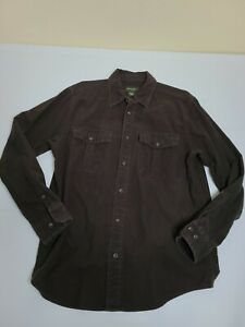 Eddie Bauer Classic Fit Size Small Flannel Feel