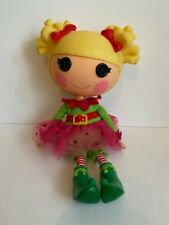 "Lalaloopsy Doll Holly Sleighbells Full Size 12"" Christmas Elf Retired 2009"