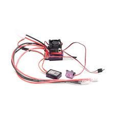 RC 4WD Outcry Crawler Dual Motor ESC w. Fan & TurboBEC Z-E0008