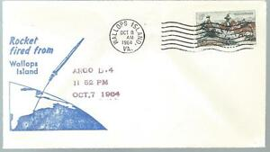 10/8/64 Rocket Argo D-4  Fired Wallops Island Va