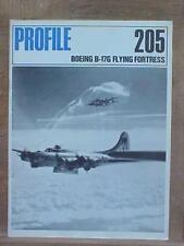 Boeing B-17 Flying Fortress aviation book Profile Publication #205