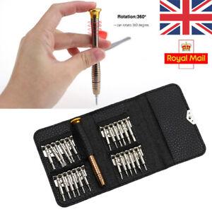 25in1 Precision Screwdriver Set Torx Glasses Repair Kit Micro Jewellers Watch UK