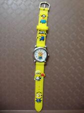 Kids Despicable Me Minion Analogue (YellowE) Silicone Band wrist watch BRAND NEW