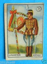 figurines cromos cards figurine v.a.v. vav 73 la guerra nostra ungheria honved