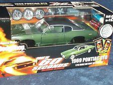 "ERTL 1969 PONTIAC GTO ""GONE IN 60 SECONDS"" DIECAST MODEL KIT 1/18 RARE!!!"