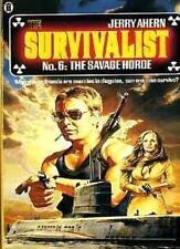 The Savage Horde (Survivalist) By Jerry Ahern