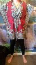 HIPPY FUNKY BOHO HOLIDAY BEACH SUMMER FESTIVAL ETHNIC CHIC KAFTAN SD103