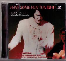 Elvis Presley CD Have Some Fun Tonight - LIVE in Las Vegas 1970 !!