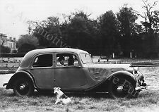 1955 CITROËN TRACTION AVANT PRESSEBILD ORIGINAL PRESS PICTURE PHOTO BILD