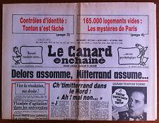 Le Canard Enchaîné 27/4/1983; 165 000 logements vides à Paris