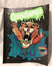 Goosebumps Notebook Theme Book
