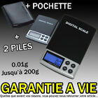 BALANCE DE PRECISION DIGITALE ELECTRONIQUE 0.01gr 200g PESE LETTRE BIJOUX POUDRE