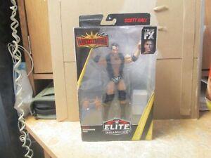"WWE ELITE WRESTLEMANIA ""SCOTT RAZOR RAMON HALL"" FIGURE"" NEW IN PACKAGE! RARE!"