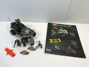 Mega Construx Halo Infinite Warthog Rally Set GNB25 99.9% Complete